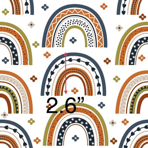 Rainbows 7 - Woven Cotton