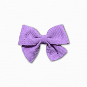 Bullet Fabric Solid Purple Bow | Online Fabric Shopping Australia