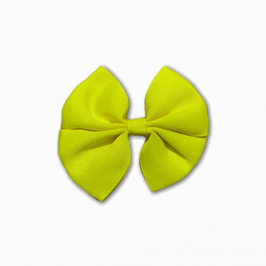 Grosgrain Pinwheel Yellow Bow | Buy Fabric Online Australia