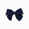 Bullet Fabric Solid Navy Bow | Best Online Fabric Store Australia
