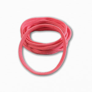 Coral Stretchy Soft Baby Headbands | Online Fabric Shops Australia