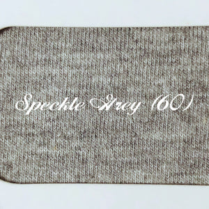 Pre-Order Solid Speckle Grey Cotton Lycra