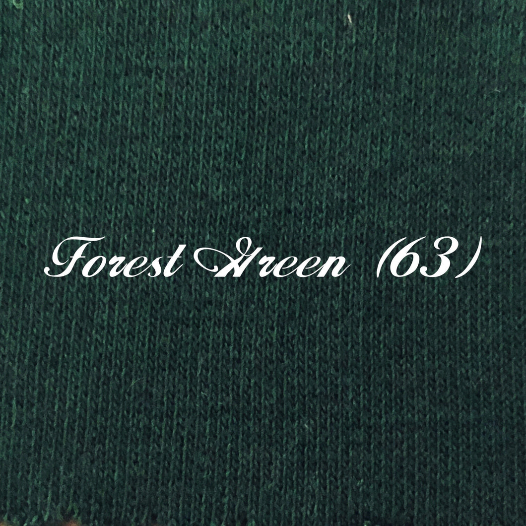 Pre-Order Solid Forest Green French Terry