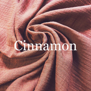 Cinnamon Double Gauze