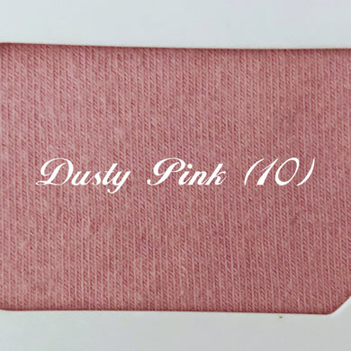 Pre-Order Solid Dusty Pink Cotton Lycra
