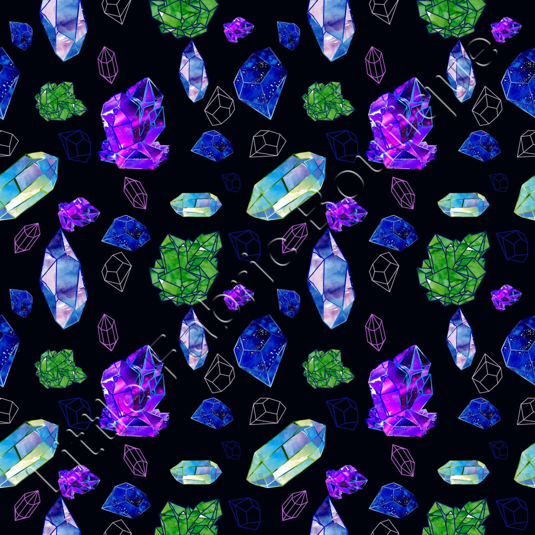 Gemstones - Knit 220gsm