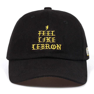 2018 I FEEL LIKE LEBRON Dad Hat, hat, HaveJerseys, HaveJerseys, 2018 throwback retro vintage movie sports basketball baseball football hockey college highschool jerseys, jersey plug, movie jerseys