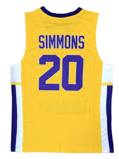 Ben Simmons #20 High School Jersey, Jersey, HaveJerseys, HaveJerseys, 2018 throwback retro vintage movie sports basketball baseball football hockey college highschool jerseys, jersey plug, movie jerseys