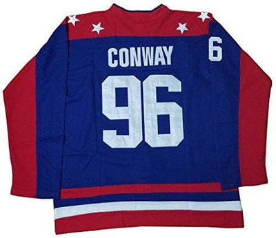 "Charlie Conway #96 Team USA Mighty Ducks ""Hendrix"" Movie Jersey, , HaveJerseys, HaveJerseys, 2018 throwback retro vintage movie sports basketball baseball football hockey college highschool jerseys, jersey plug, movie jerseys"