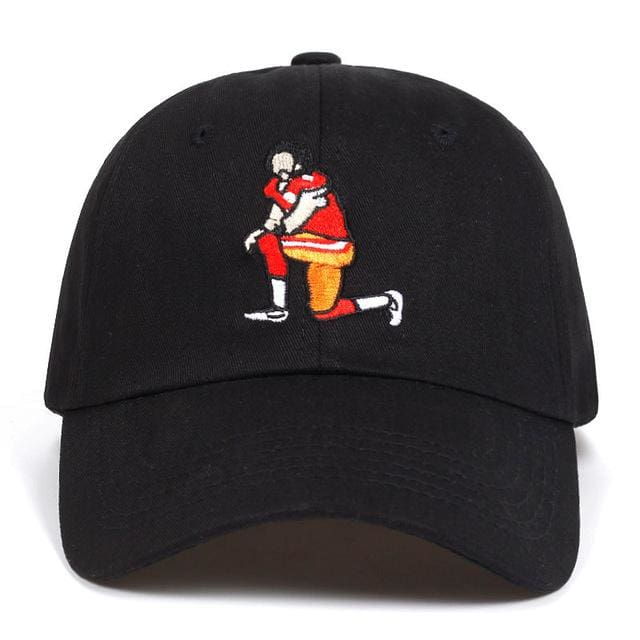 Colin Kaepernick #7 Kneeling Dad Hat