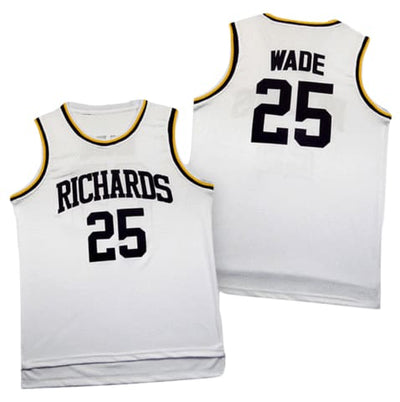 Dwyane Wade Harold L. Richards High School Jersey, basketball, HaveJerseys, HaveJerseys, 2018 throwback retro vintage movie sports basketball baseball football hockey college highschool jerseys, jersey plug, movie jerseys