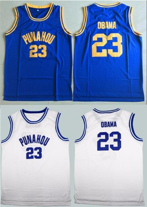 HJ™ Barack Obama #23 Punahou Official High-School Jersey