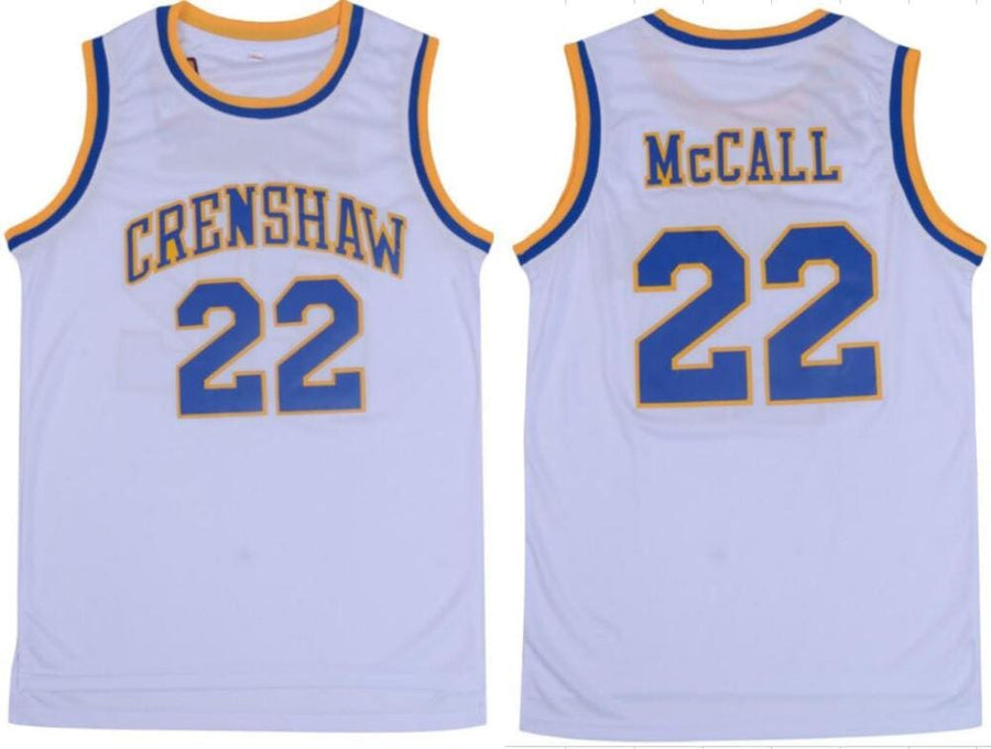 HJ™ Crenshaw #22 McCall - Love & Basketball Movie Jersey