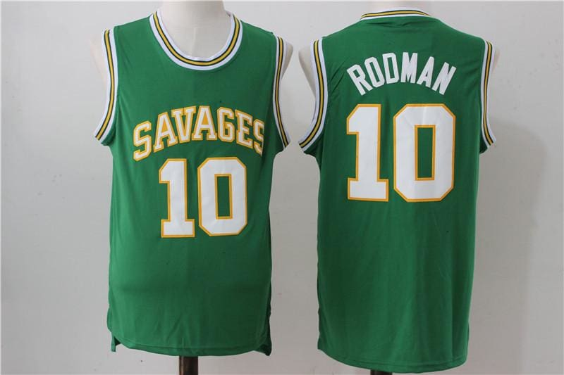 HJ™ D. Rodman Oklahoma Savages High School Jersey