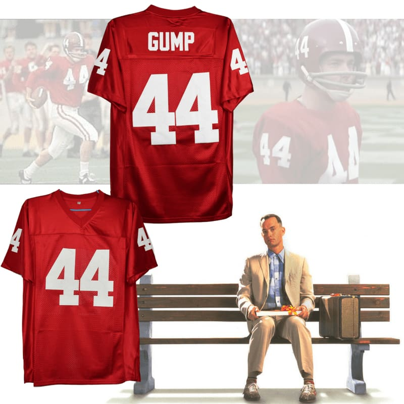 HJ™ Forrest Gump #44 Alabama Crimson Tide Movie Jersey