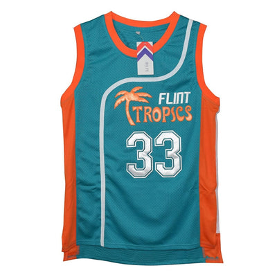 HJ™ Jackie Moon #33 Flint Tropics Semi-Pro Movie Jerseys, Jersey, havejerseys, HaveJerseys, 2018 throwback retro vintage movie sports basketball baseball football hockey college highschool jerseys, jersey plug, movie jerseys