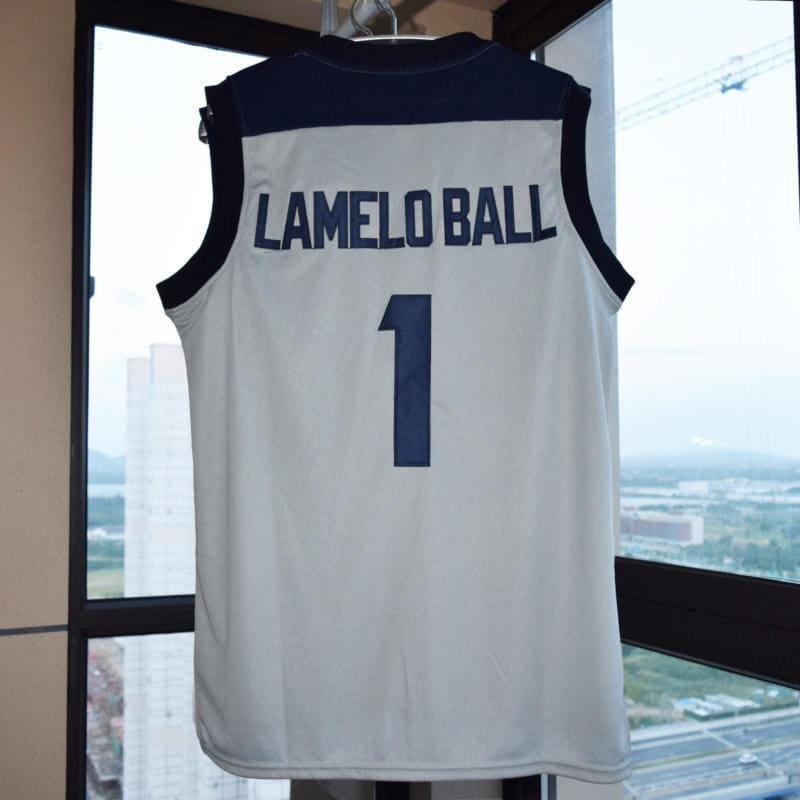 LaMelo Ball #1 Lithuania Vytautus #3 Basketball Jersey Stitched S L XL- 3XL M