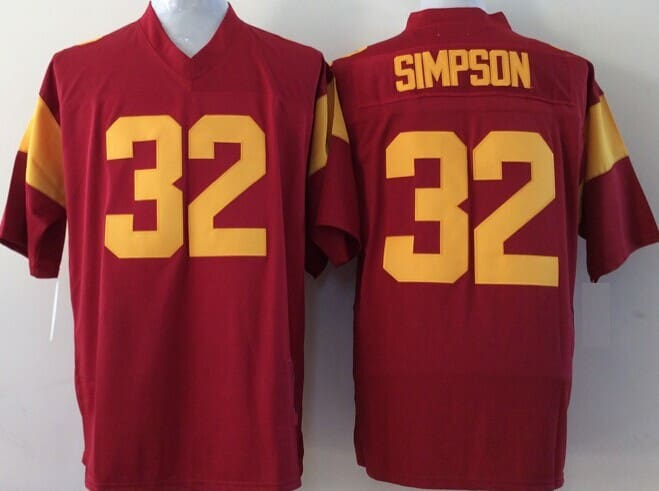 HJ™ OJ Simpson #32 Official Throwback Jersey