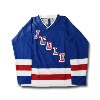J. Cole #14 Forest Hills Dr. Hockey Jersey, Jersey, HaveJerseys, HaveJerseys, 2018 throwback retro vintage movie sports basketball baseball football hockey college highschool jerseys, jersey plug, movie jerseys