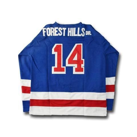 J. Cole #14 Forest Hills Dr. Hockey Jersey