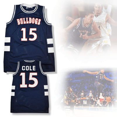 J. Cole #15 Bulldogs High School Jersey, Jersey, HaveJerseys, HaveJerseys, 2018 throwback retro vintage movie sports basketball baseball football hockey college highschool jerseys, jersey plug, movie jerseys