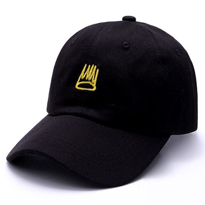 J. Cole Born Sinner Crown Dad Hat, hat, HaveJerseys, HaveJerseys, 2018 throwback retro vintage movie sports basketball baseball football hockey college highschool jerseys, jersey plug, movie jerseys