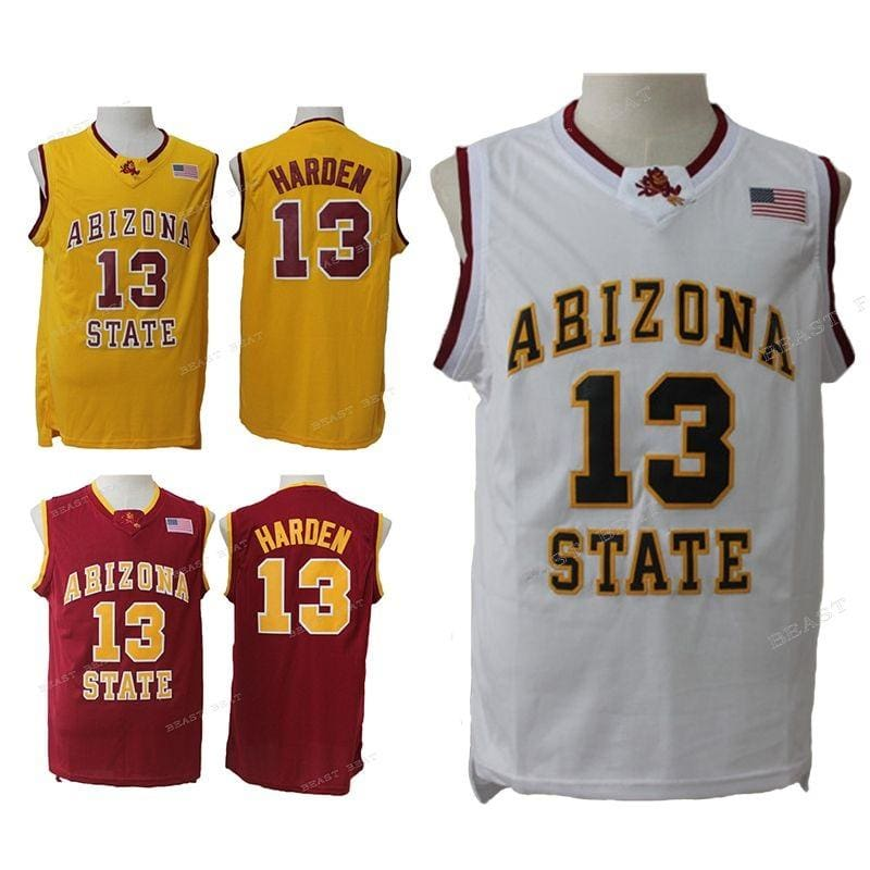 James Harden #13 Arizona State College Jersey