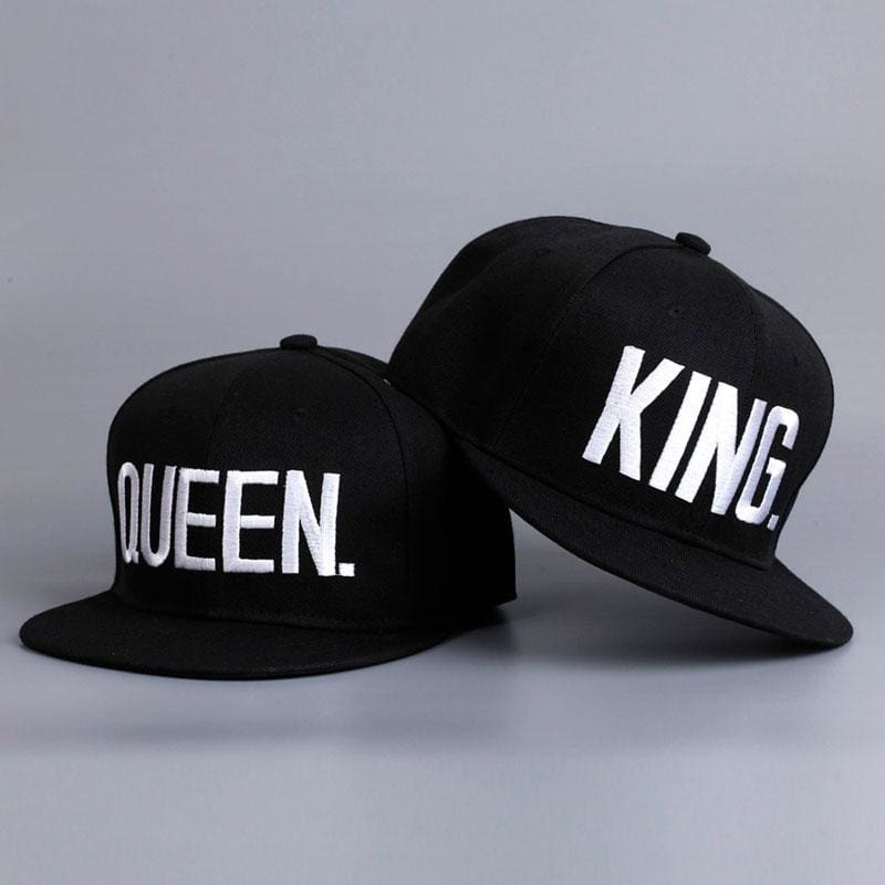 KING / QUEEN Matching Snapback Hats