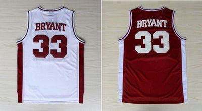Kobe #33 Lower Merion H.S. Jersey, Jersey, HaveJerseys, HaveJerseys, 2018 throwback retro vintage movie sports basketball baseball football hockey college highschool jerseys, jersey plug, movie jerseys