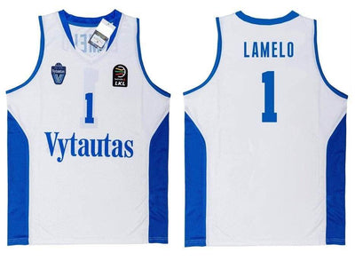 LaMelo Ball #1 Lithuania Vytautas Basketball Jersey - HaveJerseys