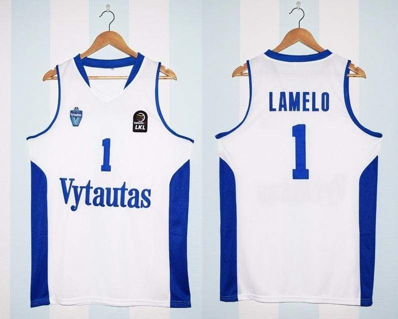 LaMelo Ball #1 Lithuania Vytautas Basketball Jersey