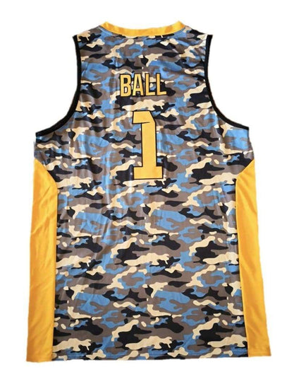 LaMelo Los Angeles #1 Ball Pro Basketball Jersey - HaveJerseys