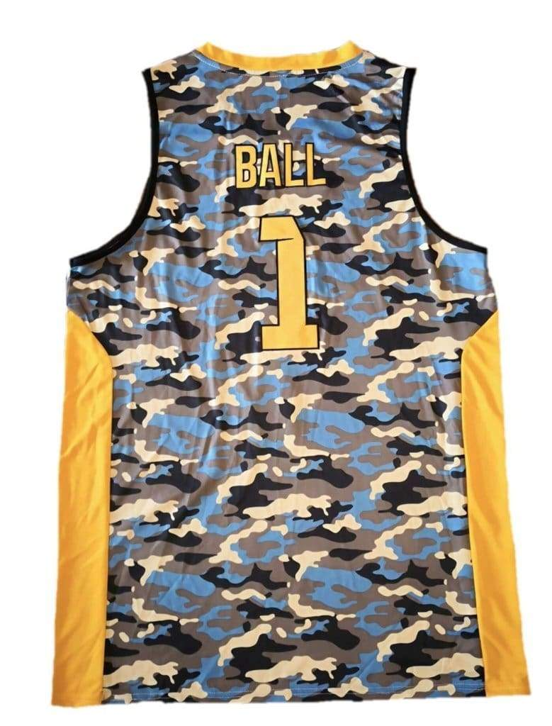 LaMelo Los Angeles #1 Ball Pro Basketball Jersey