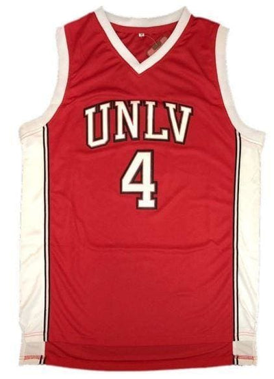 Larry Johnson #4 UNLV Rebels Las Vegas Jersey, jersey, HaveJerseys, HaveJerseys, 2018 throwback retro vintage movie sports basketball baseball football hockey college highschool jerseys, jersey plug, movie jerseys