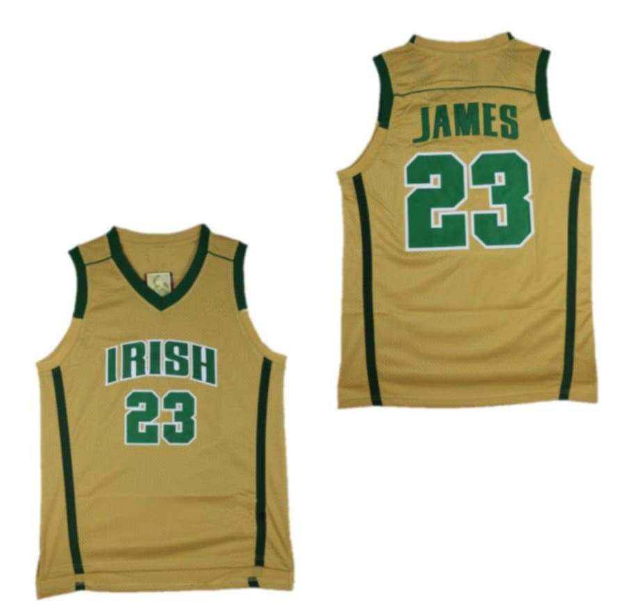 LeBron #23 Irish High School Jersey