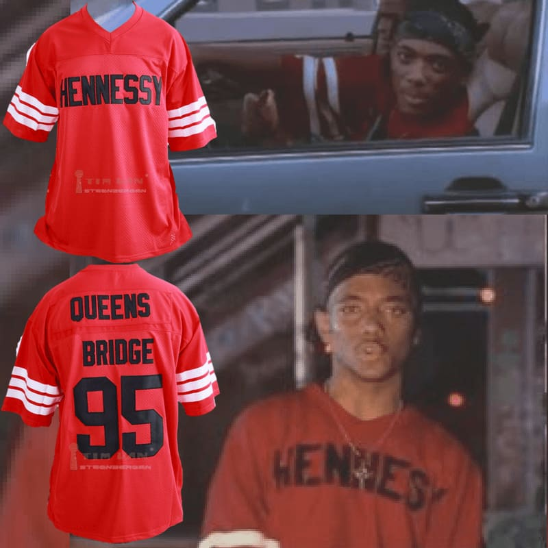 "Mobb Deep #95 Hennessy Prodigy Queens Bridge ""Shook Ones"" Jersey"