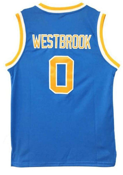 Russell Westbrook College Jersey, Jersey, HaveJerseys, HaveJerseys, 2018 throwback retro vintage movie sports basketball baseball football hockey college highschool jerseys, jersey plug, movie jerseys