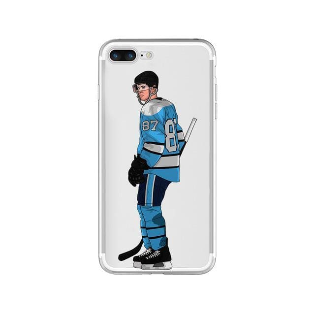 Sidney Crosby Pens Hockey Phone Case