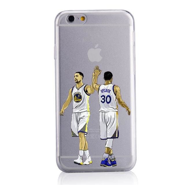 Splash Brothers Steph Curry Klay Thompson Phone Case