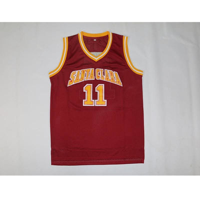 Steve Nash #11 Santa Clara Broncos College Jersey, Jersey, HaveJerseys, HaveJerseys, 2018 throwback retro vintage movie sports basketball baseball football hockey college highschool jerseys, jersey plug, movie jerseys