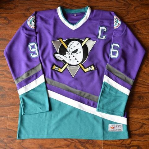The Mighty Ducks Official Movie Jerseys. All Players & All Colors.