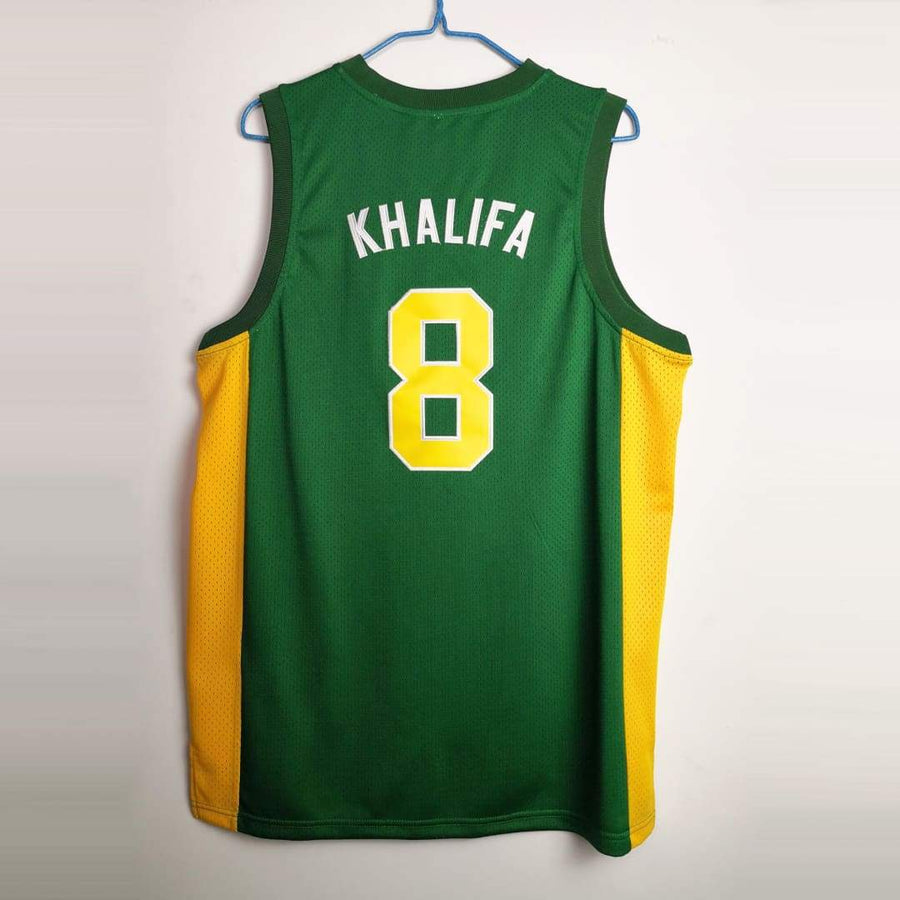 Wiz Khalifa #8 N. Hale High School Basketball Jersey