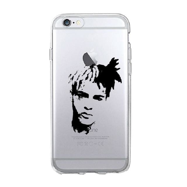 XXX-Tentacion TPU iPhone Case, hiphopphonecase, HaveJerseys, HaveJerseys, 2018 throwback retro vintage movie sports basketball baseball football hockey college highschool jerseys, jersey plug, movie jerseys