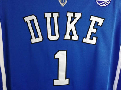 Zion Williamson #1 Duke Basketball Jersey, Jersey, HaveJerseys, HaveJerseys, 2018 throwback retro vintage movie sports basketball baseball football hockey college highschool jerseys, jersey plug, movie jerseys