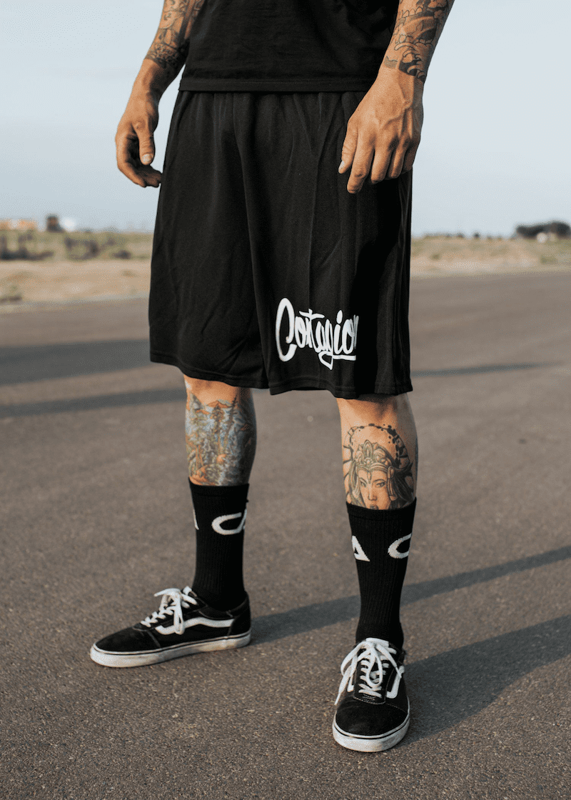 Contagion Pocket Shorts - Black - Shorts - Contagion Athletics