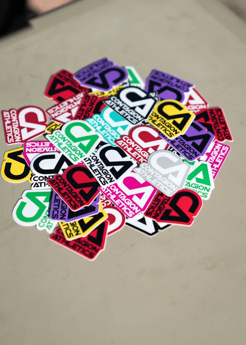 "Squadron Sticker 1.5"" - Shop : Accessory : Sticker - Contagion Athletics"