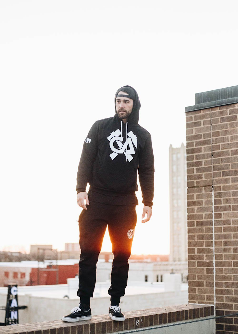 Hammer and Axe United Hoodie - Hoodie - Contagion Athletics