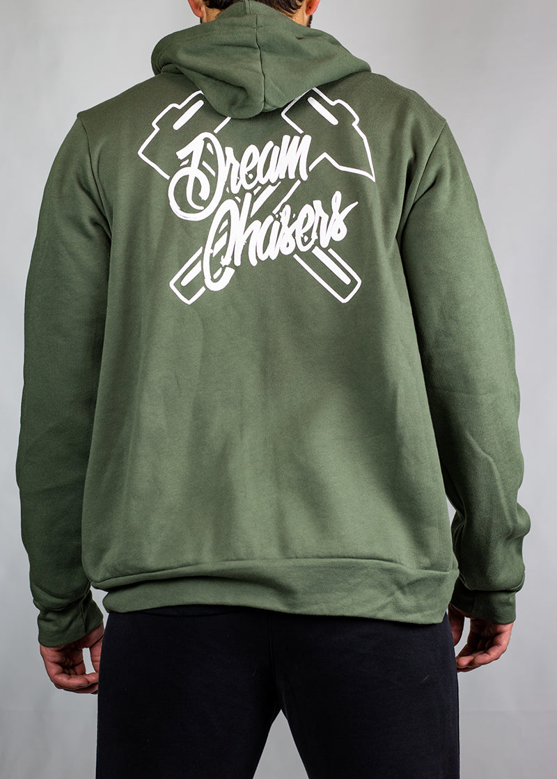Dream Chasers Undefeated Zipup - Shop : Apparel : ZIp-Up - Contagion Athletics