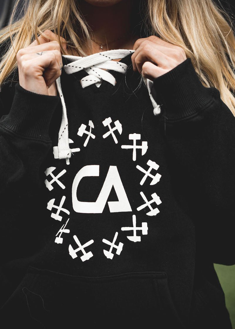 CA Hockey Hoodie - Black - Shop : Apparel : Hoodie - Contagion Athletics