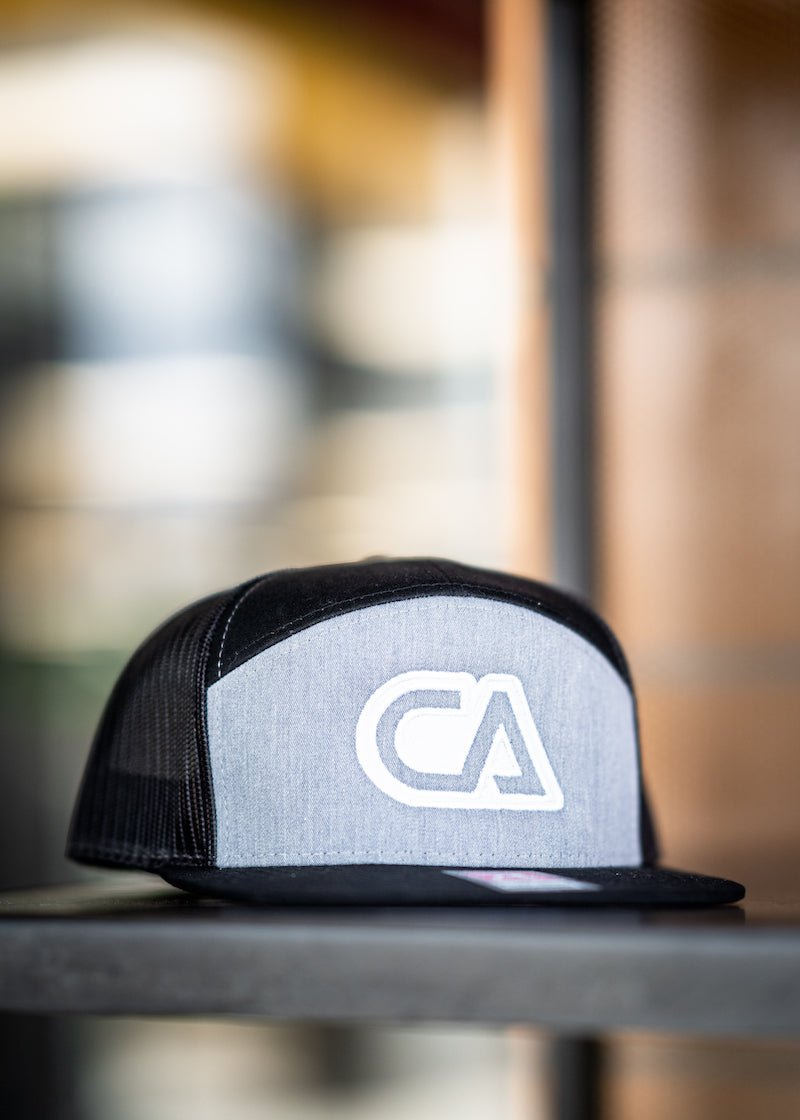 Ghost 3D CA Logo - 9 Panel - Snapback Hat - Contagion Athletics